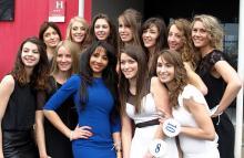Candidates Miss Saône et Loire 2015