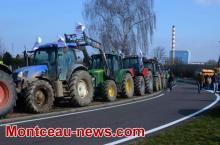 Réactualisé à 17 h 30 - Manifestation d'agriculteurs sur la RCEA.. (VOIR NOTRE VIDEO)