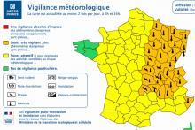 Vigilance météo en Saône-et-Loire