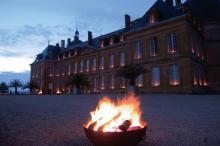Soirée aux flambeaux au Château de Digoine