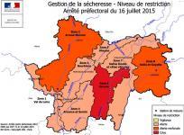 Généralisation des mesures de restriction d'usages de l'eau…