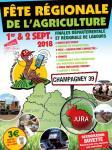 Fête Régionale de l'Agriculture 2018