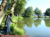 Premier concours de pêche féminin en Saône-et-Loire