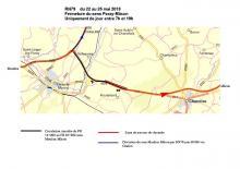 Travaux de réfection de la chaussée de la RN 79du 22 au 25 mai 2018