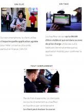 Lancement de la plateforme Le.taxi (Transports)