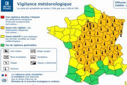 Mise en alerte météo (Saône-et-Loire)