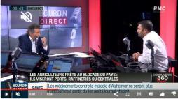Jérémy Decerle  de Chevagny-sur-Guye, président des JA, l'a annoncé sur BFM-RMC