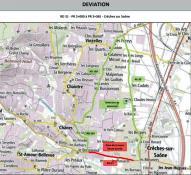 RD31 – Commune de Crèche-sur-Saône : travaux de reprofilage