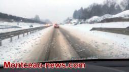Jeudi noir sur les routes ce matin...VOIR LES VIDEOS