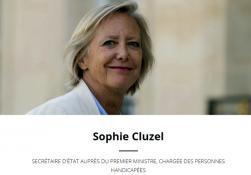 Mme Sophie CLUZEL, Secrétaire d'État chargée des Personnes handicapées en Saône-et-Loire