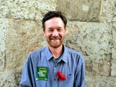 Vincent Talmot, vigneron-paysan bio, sur la liste Europe Ecologie menée par Yannick Jadot