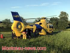 Après l'accident mortel de ce mercredi matin à Champlecy (RCEA, - RN 79)