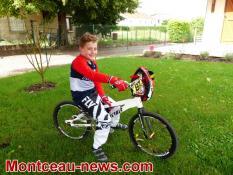 Saône-et-Loire : Portrait d'un champion de BMX
