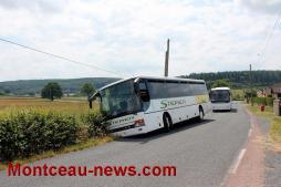 Faits divers – Quand deux bus se croisent…