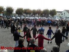 Réactualisé à 15 h 40 - Réfugiés - manifestation et contre-manifestation à Digoin...