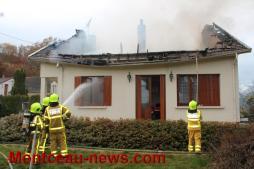 Faits divers – Incendie inexpliqué au hameau «Les Raquins» à Perrecy-les-Forges