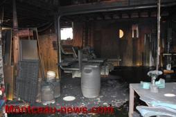Incendie, ce matin, dans une menuiserie à Joncy