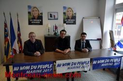 Journée départementale du Front national de la jeunesse(FNJ) à Montceau