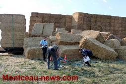 Faits divers – Entre La Guiche et Saint-Bonnet-de-Joux, un jeune ouvrier agricole miraculé!