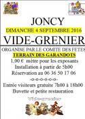 Comité des fêtes de Joncy (Sortir)