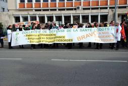 Journée nationale d'action dans les hôpitaux...