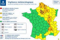 MISE EN ALERTE MÉTÉOROLOGIQUE (Saône-et-Loire)