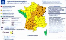 Alerte vigilance orange « orages »