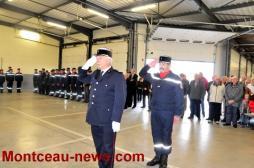 Le corps des sapeurs pompiers de Saône-et-Loire en deuil