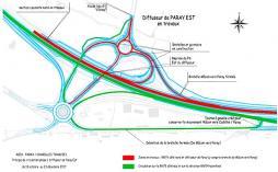 Travaux d'aménagement à 2x2 voies de la RCEA – RN79