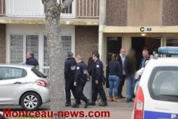 REACTUALISE ce jeudi à 3 h 10 -  Agression avec une hachette d'une femme par son mari à Montceau…