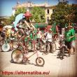 Le Tour Alternatiba au Rousset le 12 juillet 2015