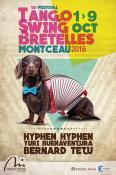 """1er au 9 octobre 2016 - Festival """"Tango, Swing et bretelles"""" à Montceau... - voir les vidéos"""